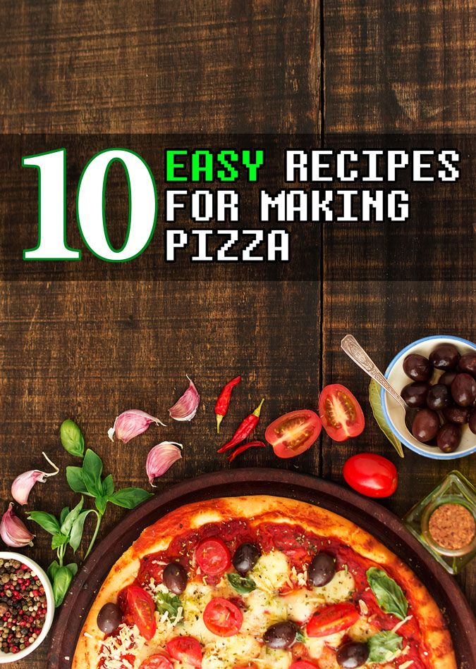Easy recipes for pizza